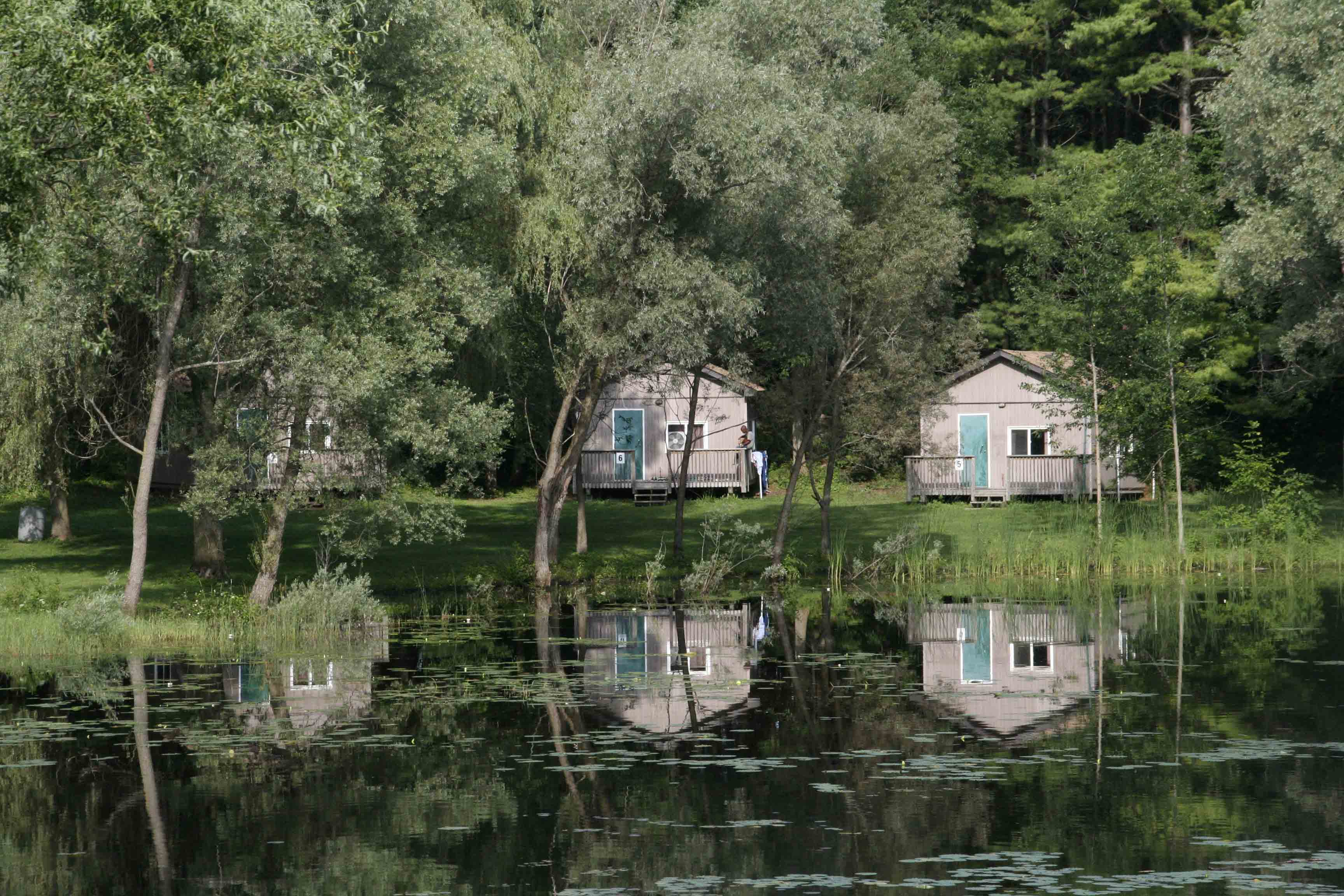 Seasonal Cabins at Countryside Camp Guelph Cambridge Waterloo