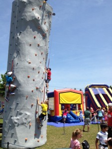 Countryside Camp Rock Wall Inflatable