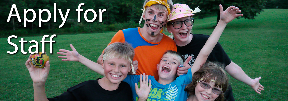 Apply for Staff at a Christian Summer Camp