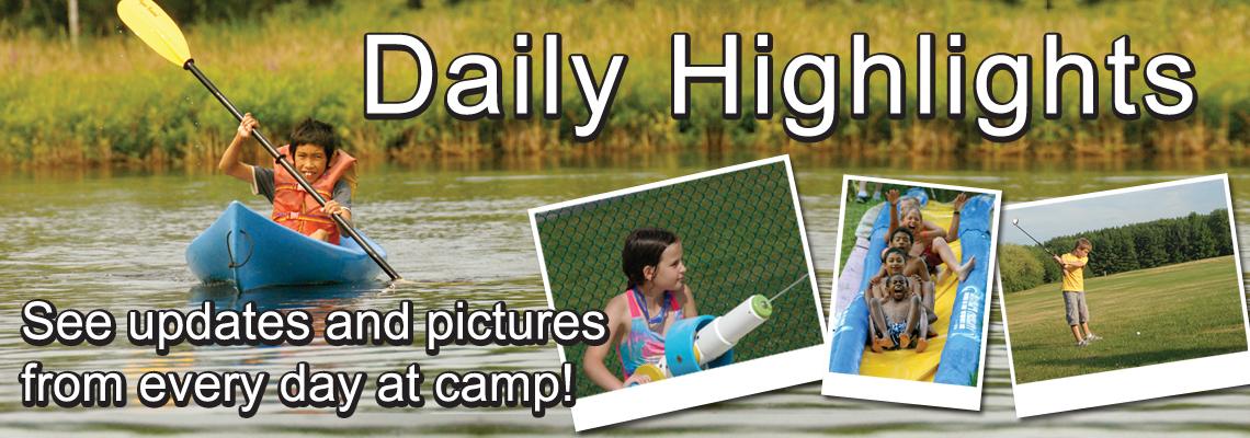 Daily Highlights Slider