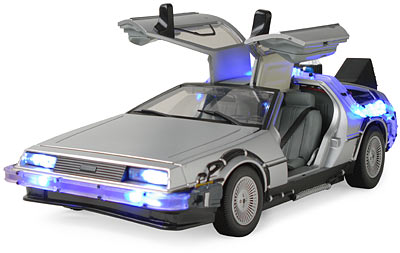 Back To The Future- Delorean- Countryside Camp